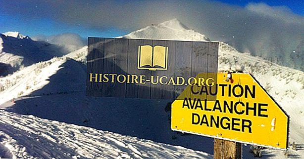 Co byste měli dělat, pokud jste chyceni v lavině?
