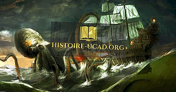Jak zanikające wyspy dały narodziny opowieściom o potworach morskich?