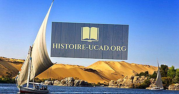 Egyptens geografi: Klimaet og de naturlige områder i Egypten