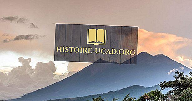 أطول الجبال في أمريكا الوسطى