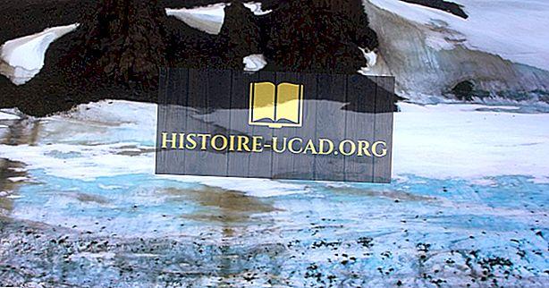 Ледникови форми: Какво е Каме делта?