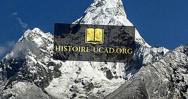 Iš kur kyla Everesto kalnas?