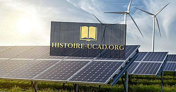 заобикаляща среда - Страни с най-възобновяема енергия