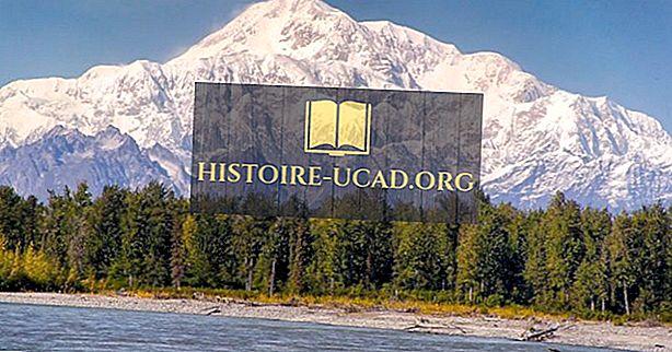 Kde se Denali (Mount McKinley) Rise?