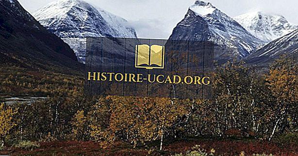 Apakah Kawasan Gunung Scandinavia?