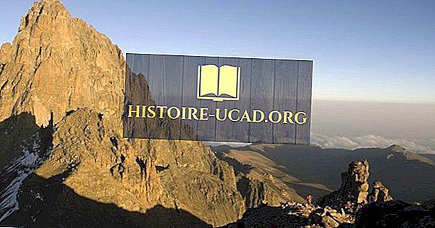 Hvor er Mount Kenya plassert?