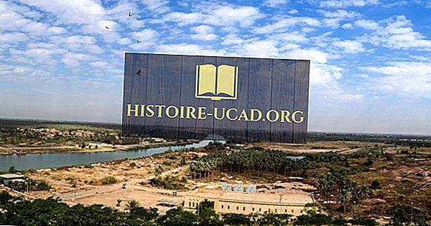 Které země proudí řeka Eufrat?