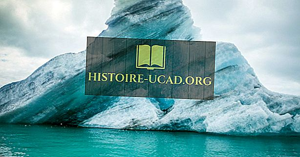 Adakah Icebergs diperbuat daripada Air Tawar atau Air Garam?