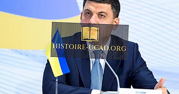 Popis premijera Ukrajine