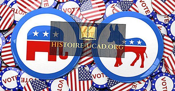 politique - Liste des États rouges (États républicains)