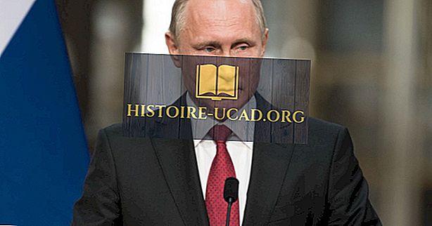 Oroszország elnökei a Szovjetunió bukása óta