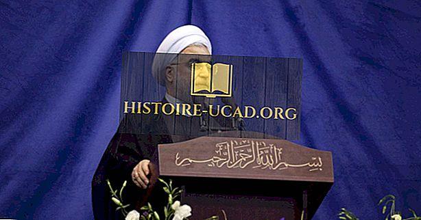 Líderes de Irán a lo largo de la historia