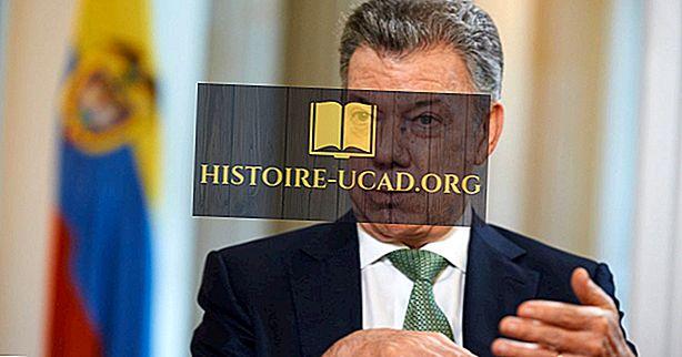 Lista de presidentes da Colômbia