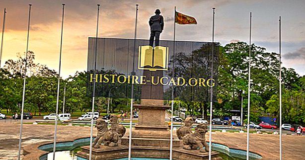 Kdo je predsednik vlade Šrilanke?