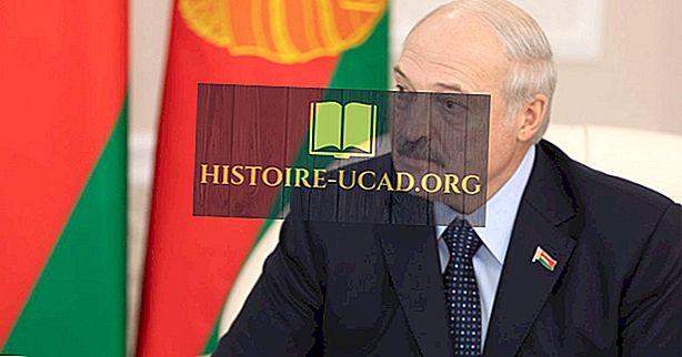 Ко је био први председник Белорусије?