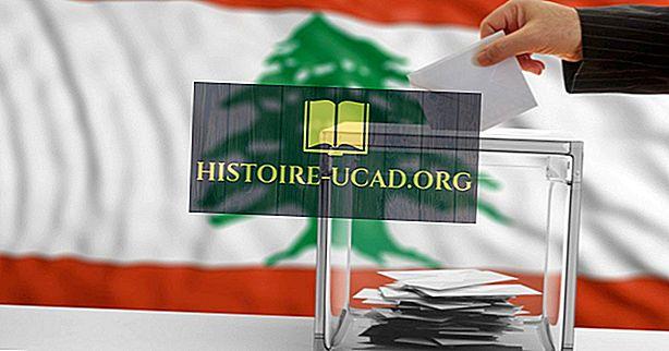 Liibanoni presidendid alates iseseisvusest