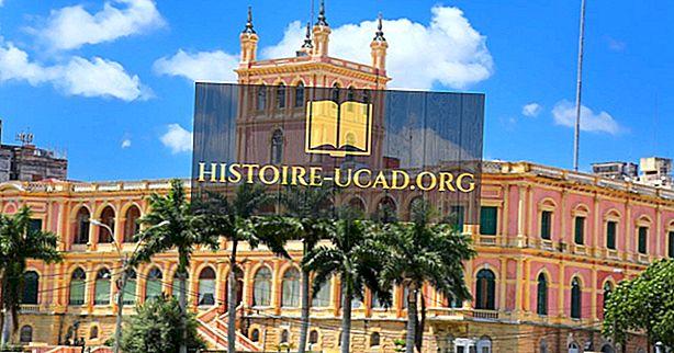 Presidenterna i Paraguay genom historien