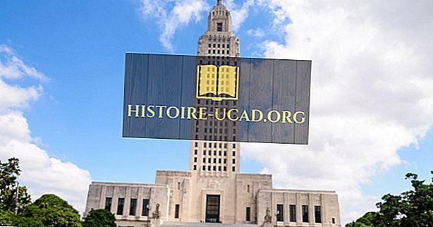Защо Луизиана има парафии вместо окръзите?