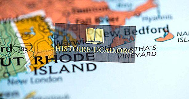 Waarom wordt Rhode Island een eiland genoemd als het er niet een is?