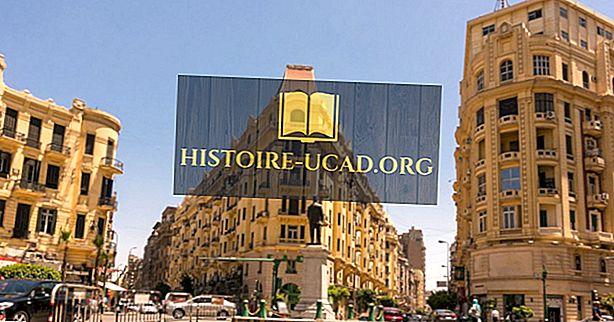 Kas yra Egipto sostinė?