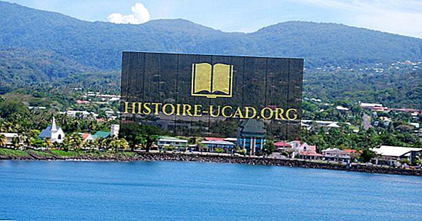 Kas ir Samoa galvaspilsēta?