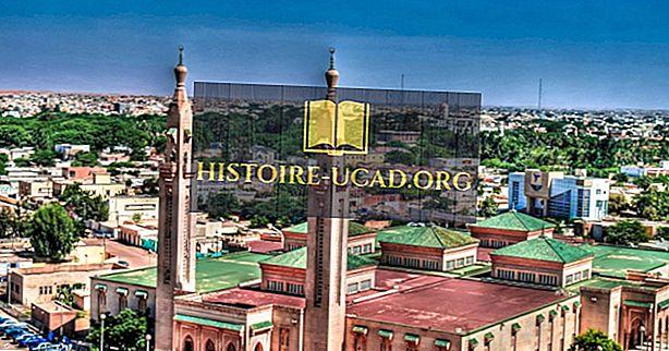 Kaj je prestolnica Mavretanije?