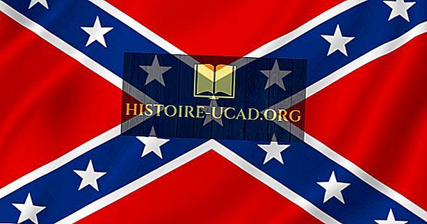 Kaj je Konfederacijska zastava?