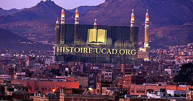 Kaj je prestolnica Jemna?