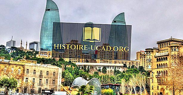 Что такое столица Азербайджана?