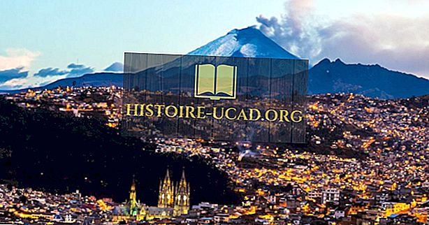 Čo je hlavným mestom Ekvádoru?