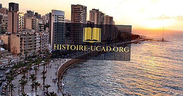 Каква е столицата на Ливан?