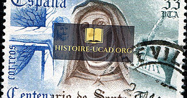 St Teresa van Avila - Beroemde figuren in de geschiedenis