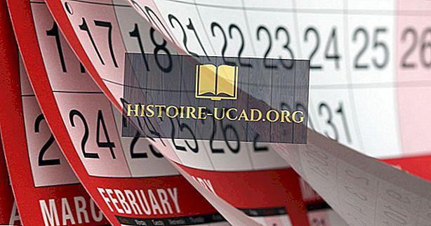 Hva er kalendermånedene navngitt etter?