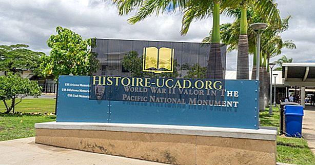 Apa Dan Di Mana Adakah Perang Dunia II Kekuatan di Monumen Nasional Pasifik?