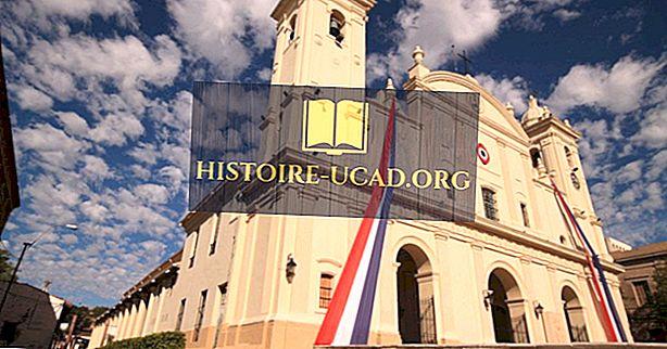Glavne religije, ki so se odvijale v Paragvaju