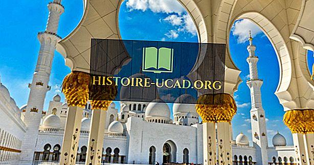 Основные религии, исповедуемые в Объединенных Арабских Эмиратах