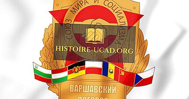 Što je Varšavski pakt?  Tko ga je potpisao?