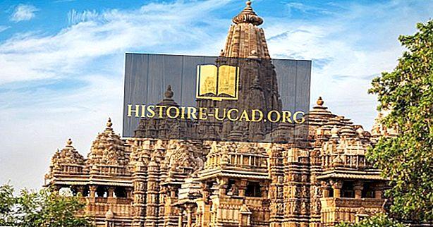 Къде са храмовете на любовта на Кхаджурахо?