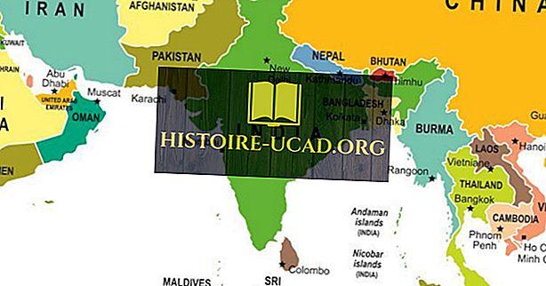 Südasien: Konstituierende Länder und ihre Bevölkerungen und Volkswirtschaften