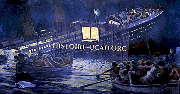 Kapan Titanic Tenggelam?