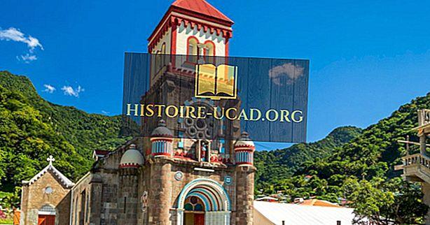 Religiöse Überzeugungen in Dominica