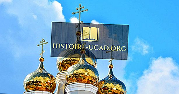 Lande med de største ortodokse kristne befolkninger