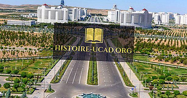 Didžiausi miestai Turkmėnistane