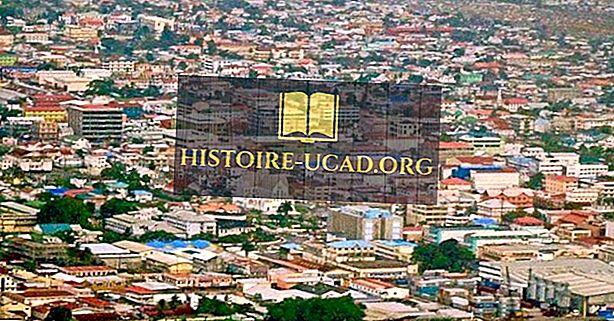 Největší města v Guyaně