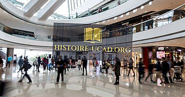 První nákupní centra ve Spojených státech