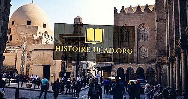 Principaux groupes ethniques en Egypte