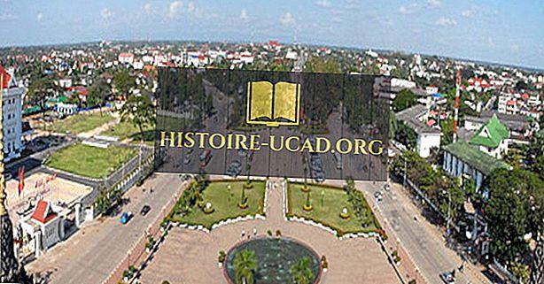 Največja mesta v Laosu
