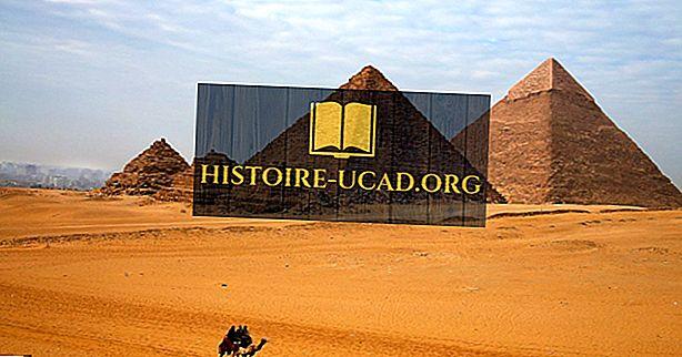 Egyptin mysteerit: kuinka Egyptin pyramidit rakennettiin?