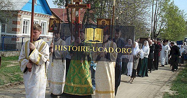 Země s nejvíce ortodoxními křesťany