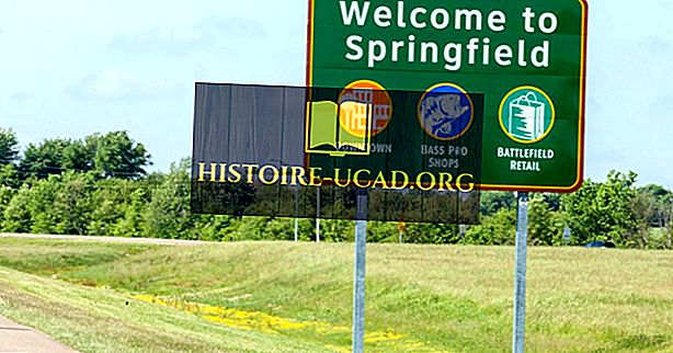 Най-често срещаните имена на градове в САЩ